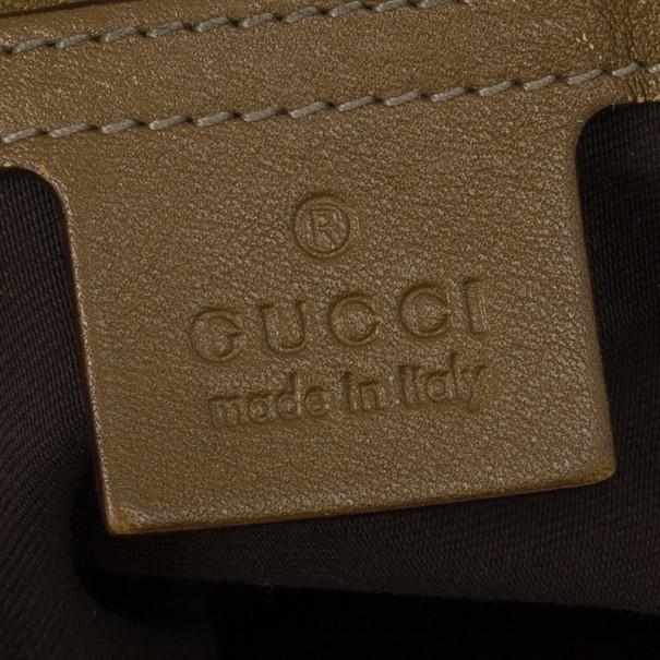 Gucci Monogram Large Pelham Tote