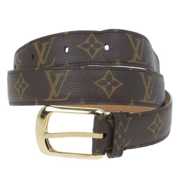 Louis Vuitton Ellipse Monogram Canvas Belt 85CM