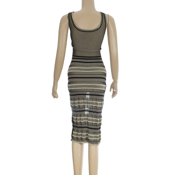 Zac Posen Pointelle Knit Dress S