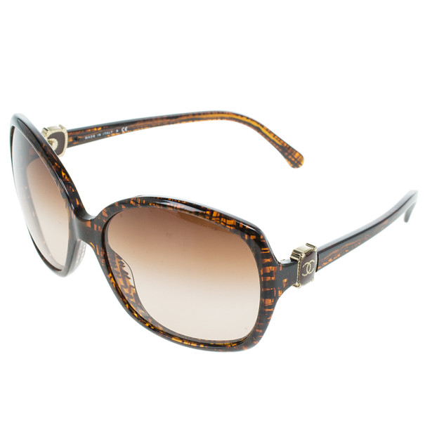 Chanel Brown 5174 Oversized Square Sunglasses