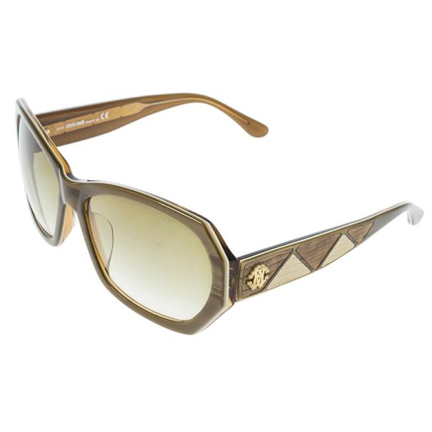 Roberto Cavalli Brown Abelia Sunglasses