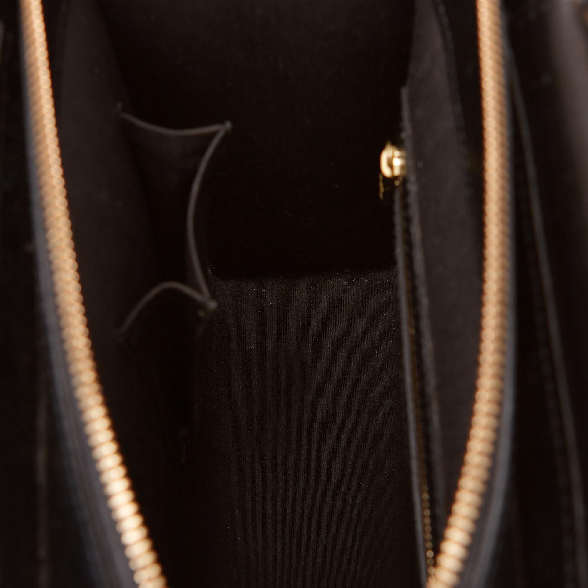 Louis Vuitton Black Epi Leather Figheri PM