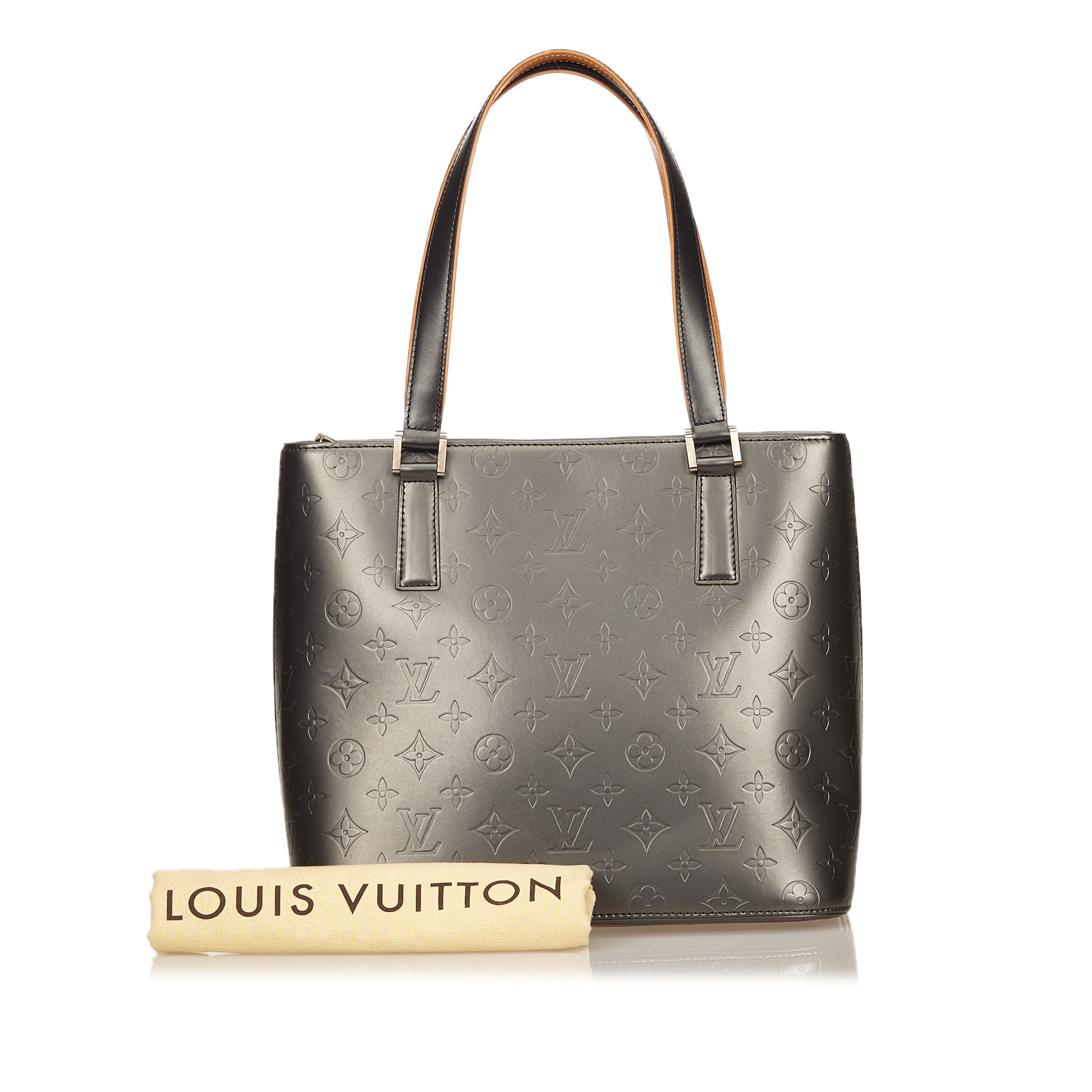 Louis Vuitton Silver Monogram Mat Stockton Tote