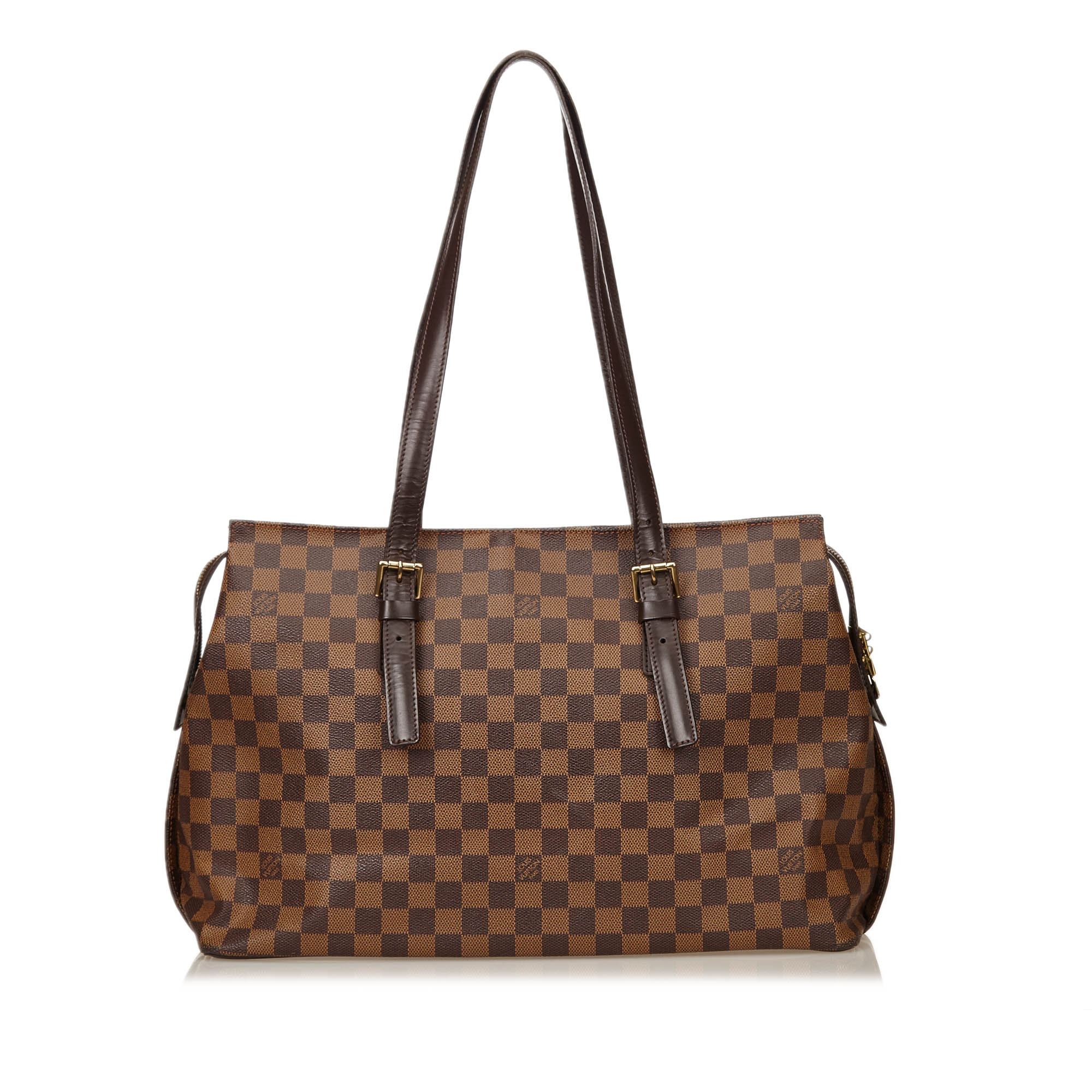 Louis Vuitton Damier Ebene Canvas Chelsea Tote