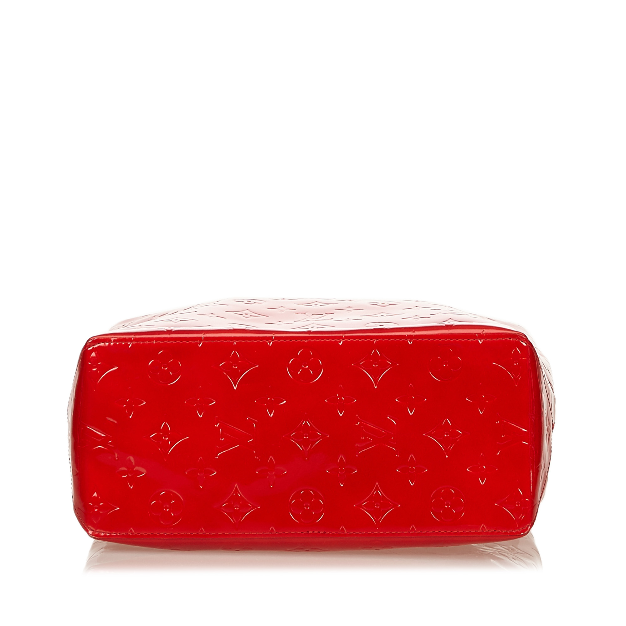 Louis Vuitton Red Vernis Reade MM