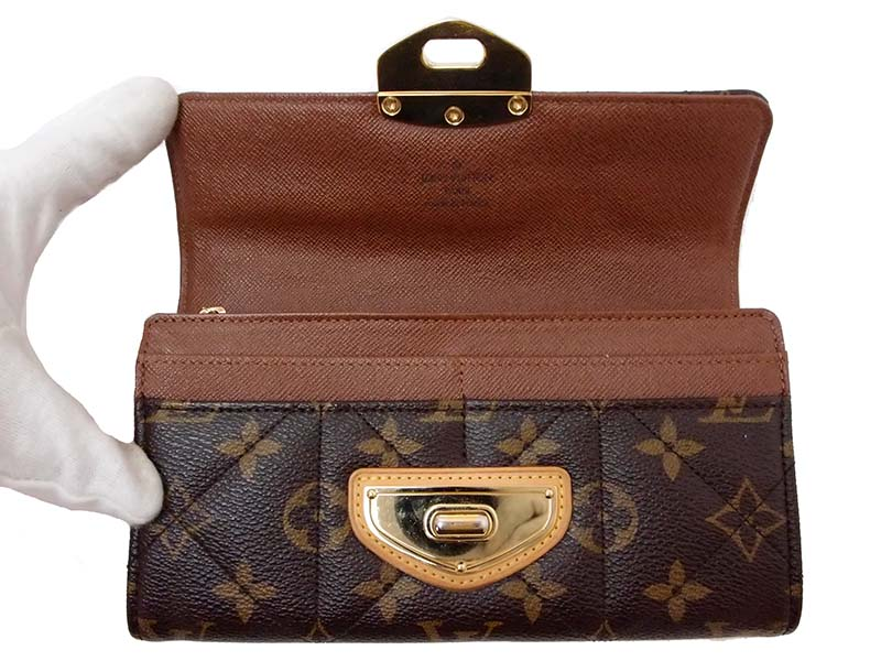 Louis Vuitton Monogram Canvas Quilted Sarah Wallet