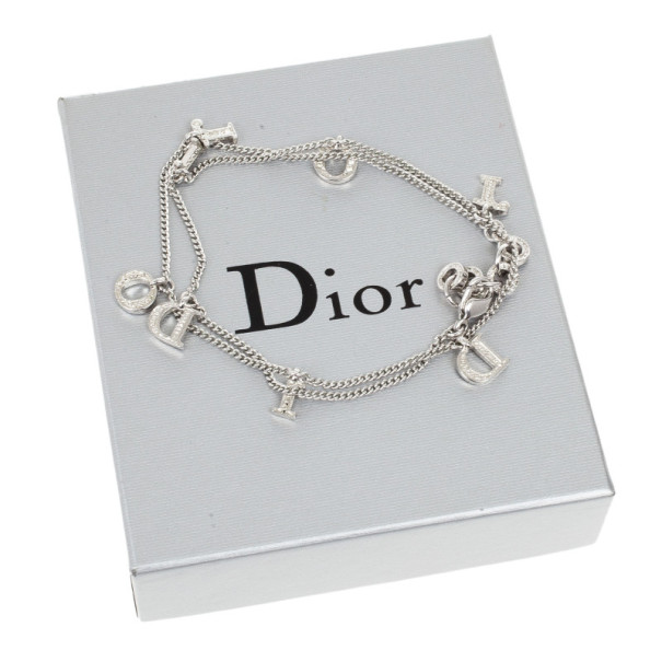 Dior Signature Rhinestones Pendants Necklace