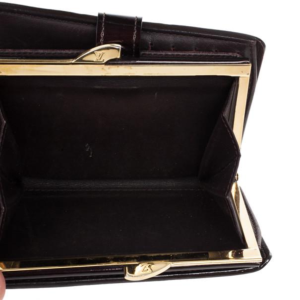 Louis Vuitton Quetsche Monogram Vernis French Wallet