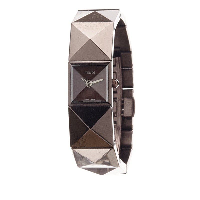 Fendi Bronze Stainless Steel 4260L Women's Wristwatch 15MM