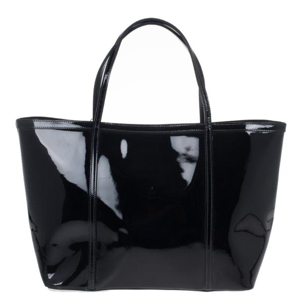 Dolce and Gabbana Black Miss Escape Tote