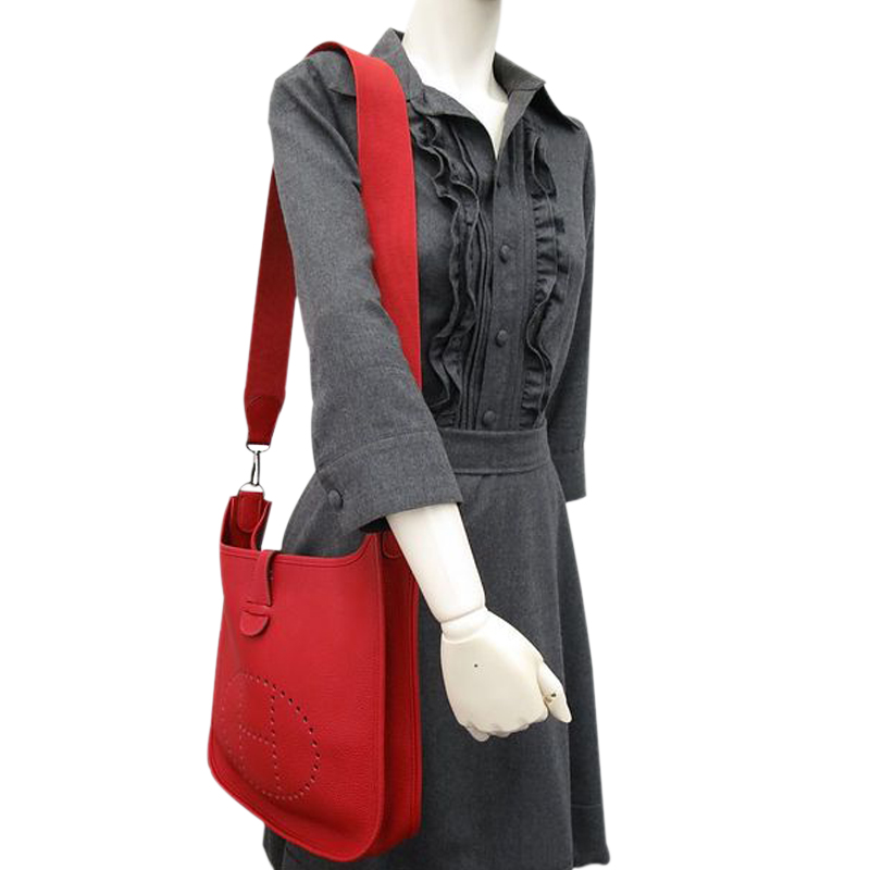d5d5857811c3 ... germany bag hermes mens wallet hermes rouge casaque togo evelyne pm i  buy sell 41827 957bd