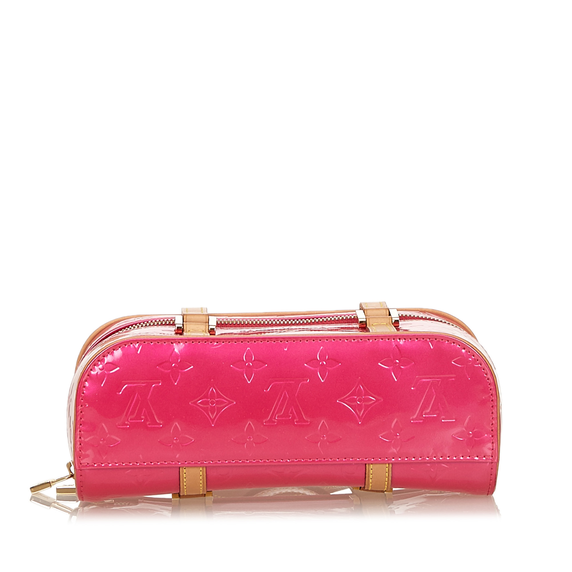 Louis Vuitton Pink Vernis Sullivan Horizontal PM