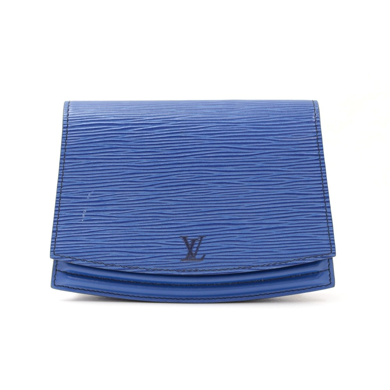 Louis Vuitton Blue Epi Leather Tilsitt Pochette