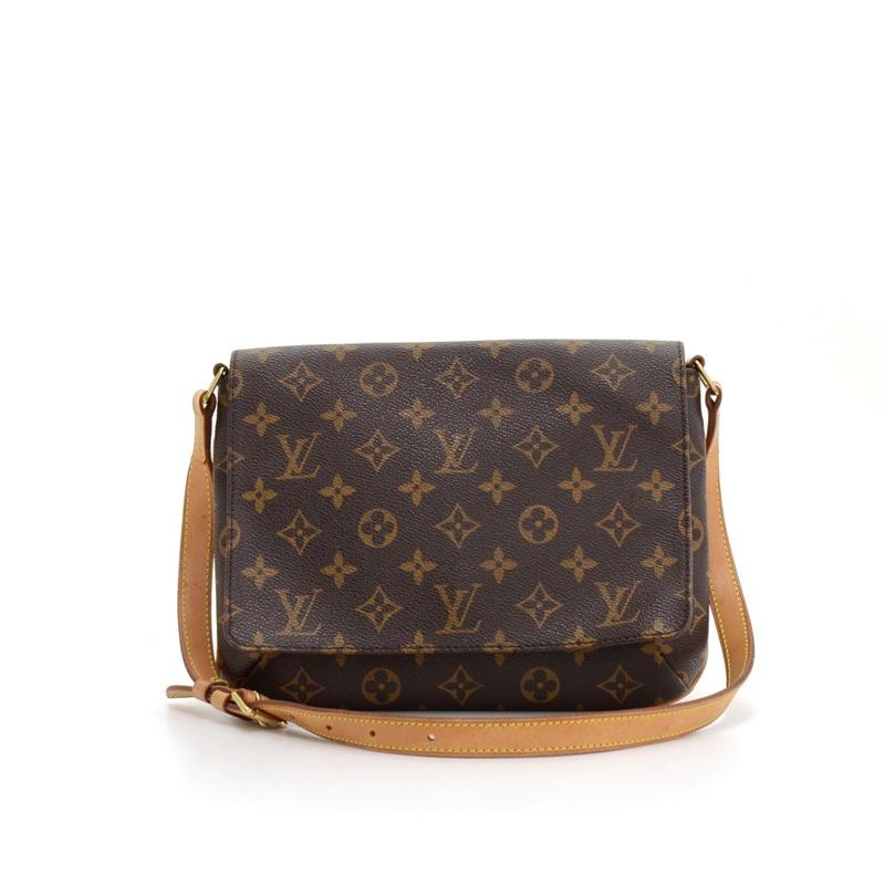 Louis Vuitton Monogram Musette Tango Shoulder Bag
