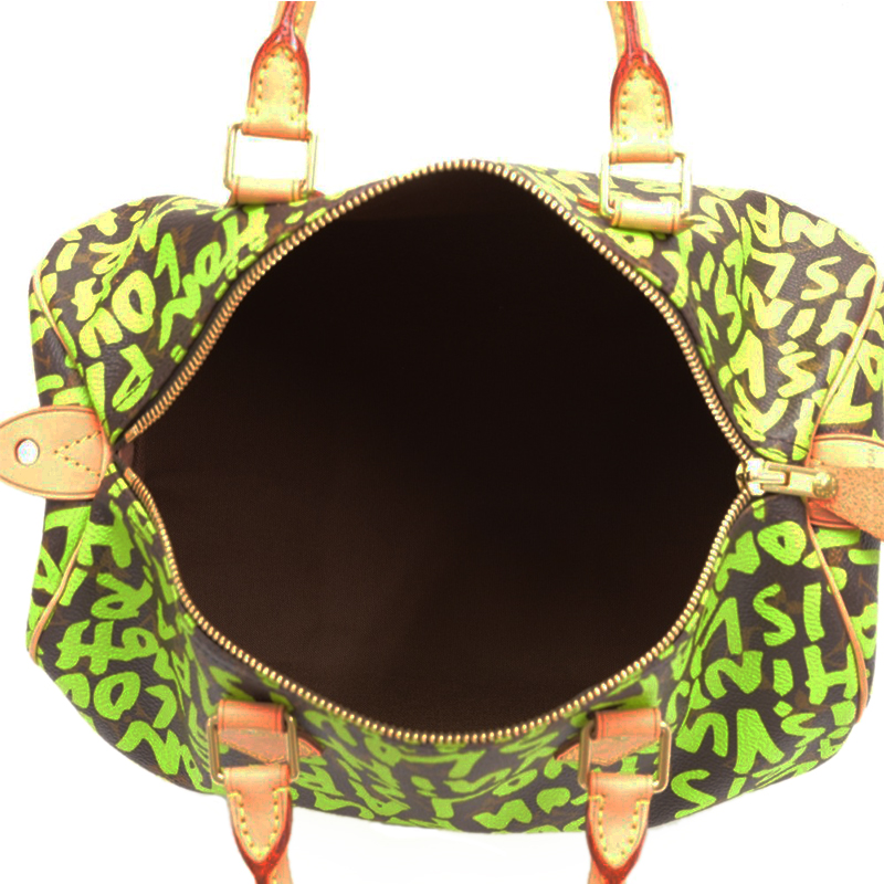 Louis Vuitton Stephen Sprouse Lime Green Graffiti Speedy 30