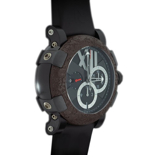 Romain Jerome Bronze Stainless Steel Titanic DNA T Oxy 4 Men's Wristwatch 47MM