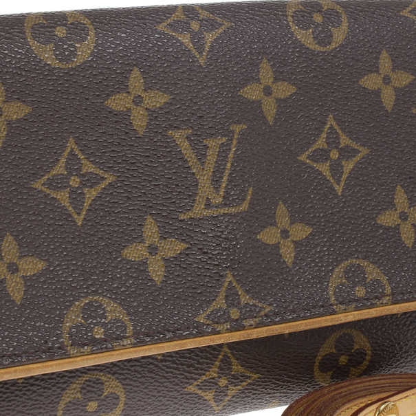 Louis Vuitton Monogram Canvas Pochette Twin