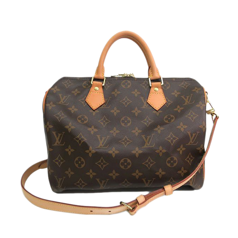 Louis Vuitton Monogram Canvas Speedy Bandouliere 30