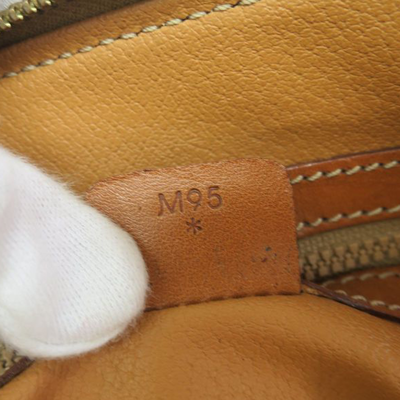 Celine Brown Vintage Monogram Macadam Boston