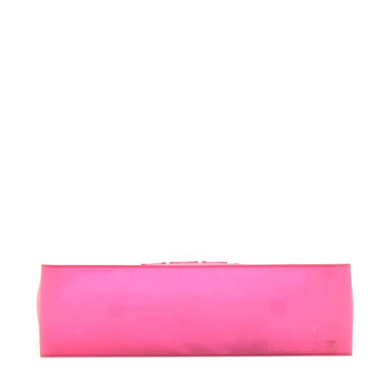 Chanel Pink Rubber Shoulder Tote