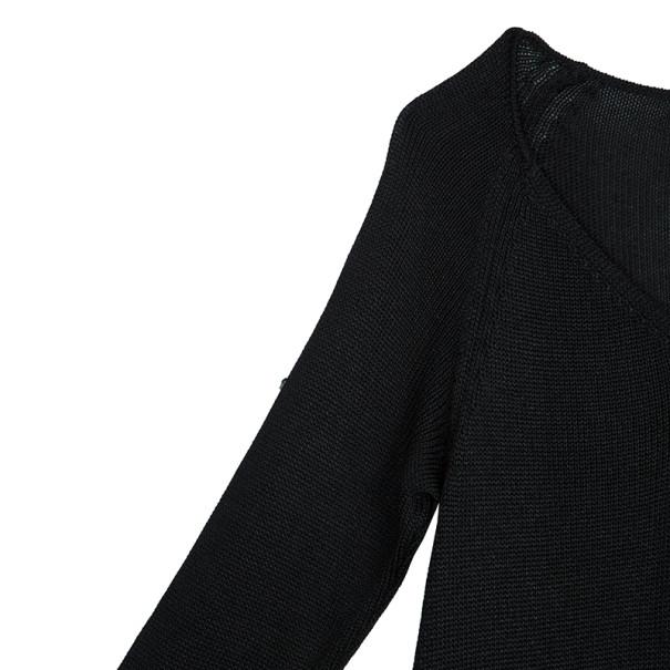 Christian Lacroix Knit Mesh Sweater M