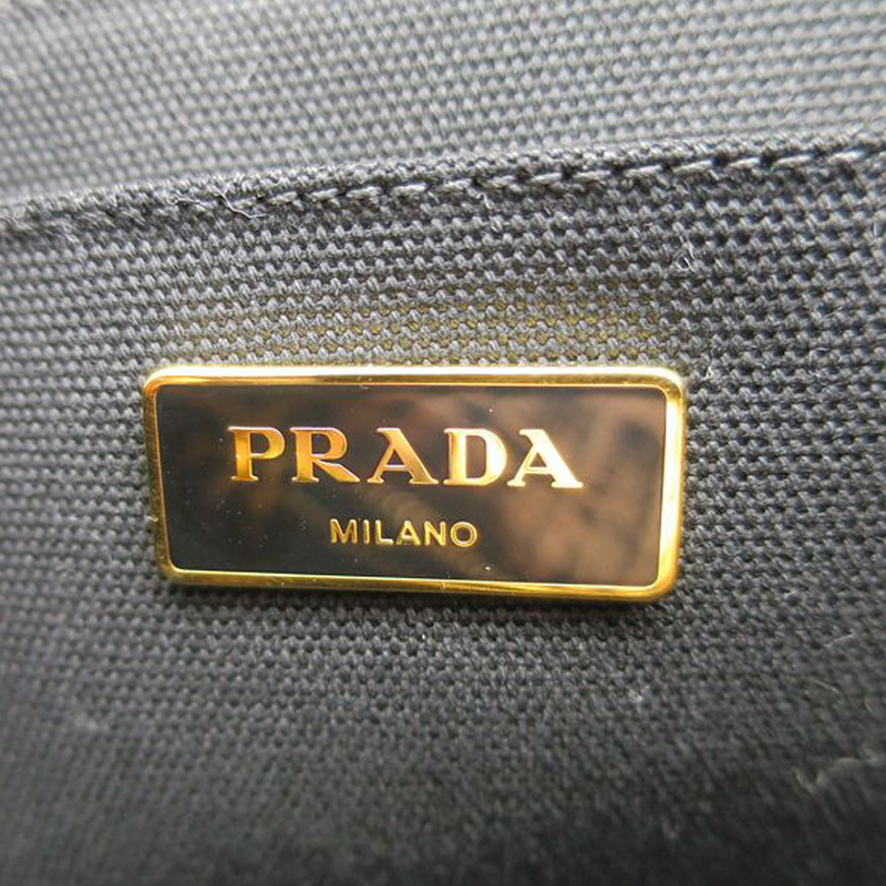 LC - Buy \u0026amp; Sell - Prada Bicolor Stampata Tweed Canapa Tote with ...