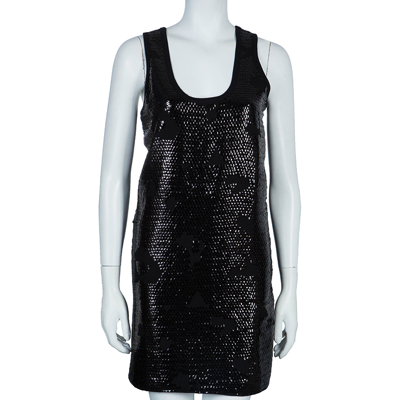 See by Chloe Black Sequin Tank Dress S - Buy &amp Sell - LC
