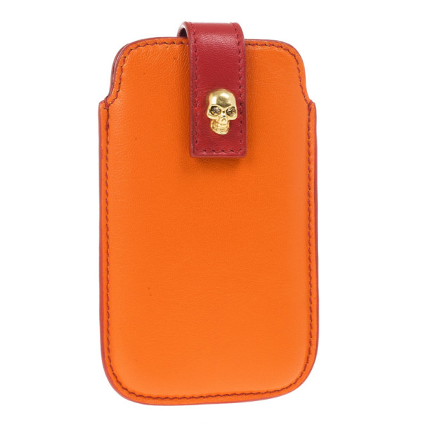 Alexander McQueen Two Tone Skull Embellished iPhone 5/5s Cover