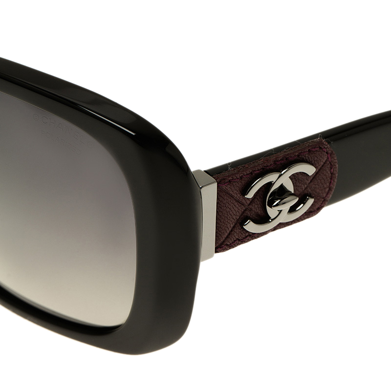 Chanel Sunglasses 5234q  chanel black cc logo 5234 q square sunglasses lc
