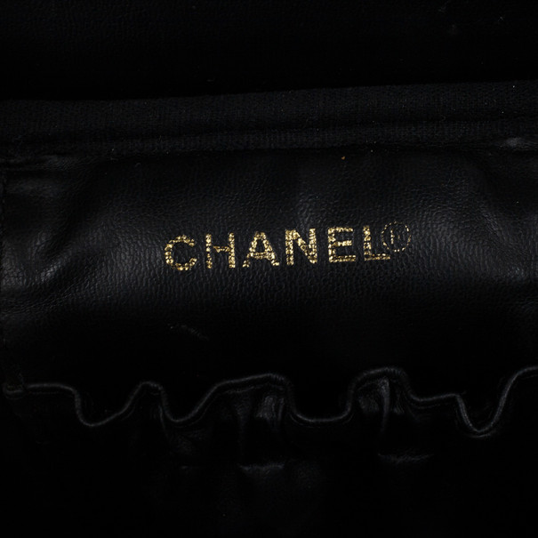Chanel Caviar CC Vanity Bag