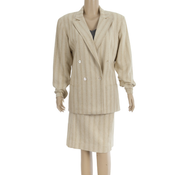 Dior Separates Skirt Suit M