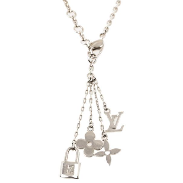 Louis Vuitton Bubbles Monogram Necklace