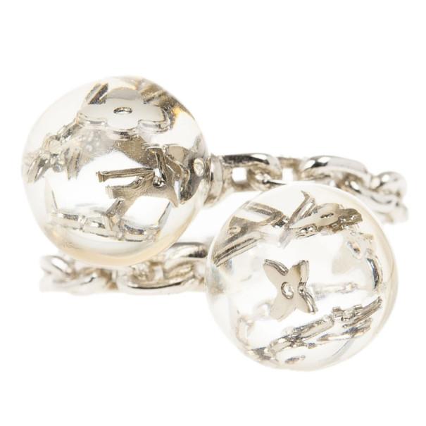 Louis Vuitton Bubbles Monogram Ring Size 54.5
