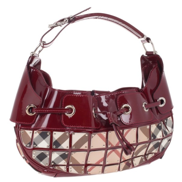 Burberry Super Nova Mini Warrior Studded Hobo