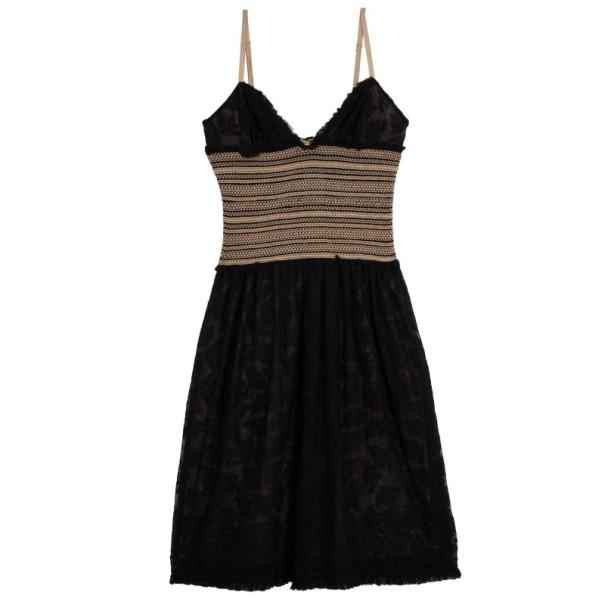 Catherine Malandrino Lace Crochet Dress M