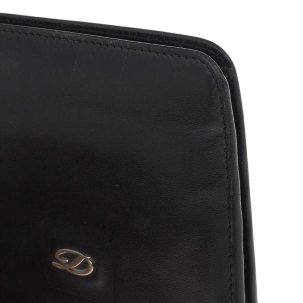 S.T. Dupont Black Leather Line D Wallet