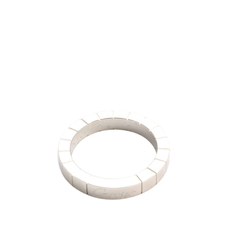Cartier Laniéres White Gold Band Ring Size 48