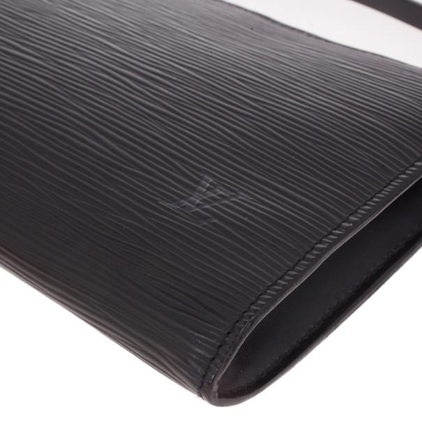 Louis Vuitton Black Epi Pochette Accessoires