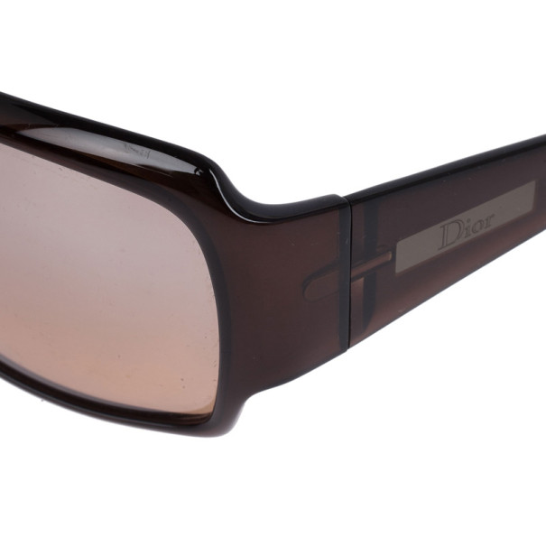 Dior Brown Celebrity 3 Square Sunglasses