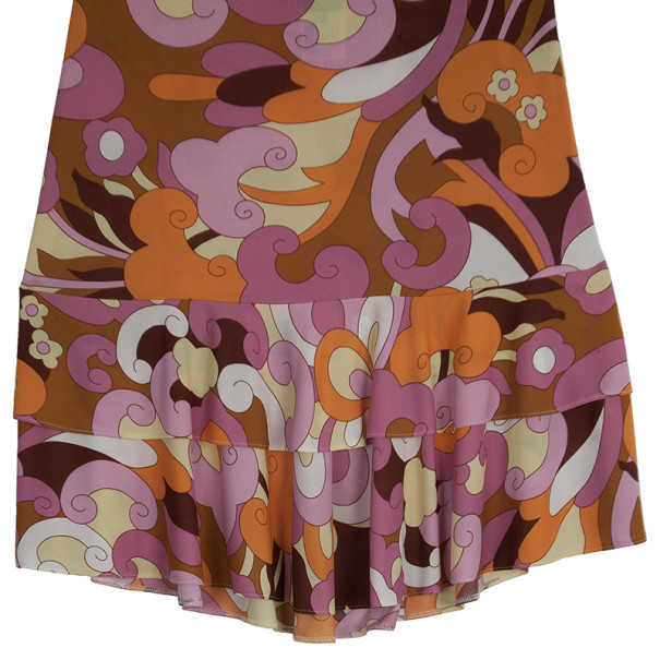 D and G Printed Skirt L