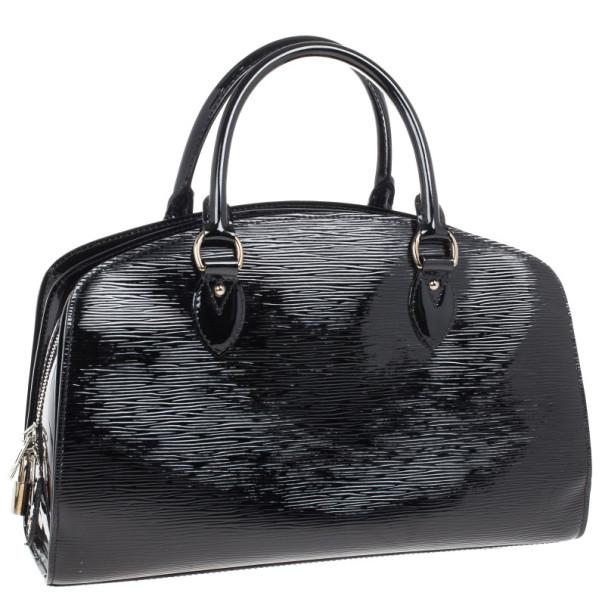 Louis Vuitton Black Epi Leather Pont-Neuf PM Bag