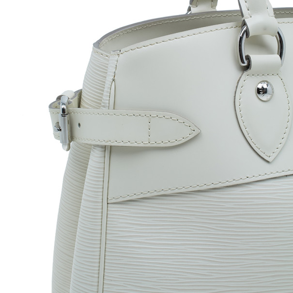 Louis Vuitton Ivory Epi Leather Passy Satchel PM