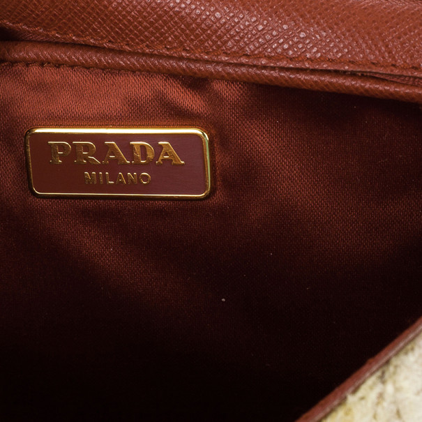 Prada Velvet Flap Bag
