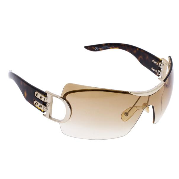 Dior Tortoise Frame Airspeed 1 Shield Sunglasses - Buy ...