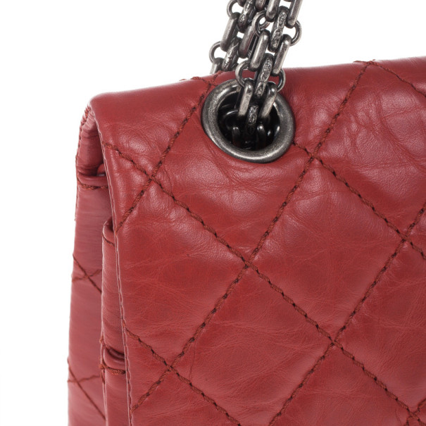 Chanel Red Leather 2.26 Reissue Flap Bag
