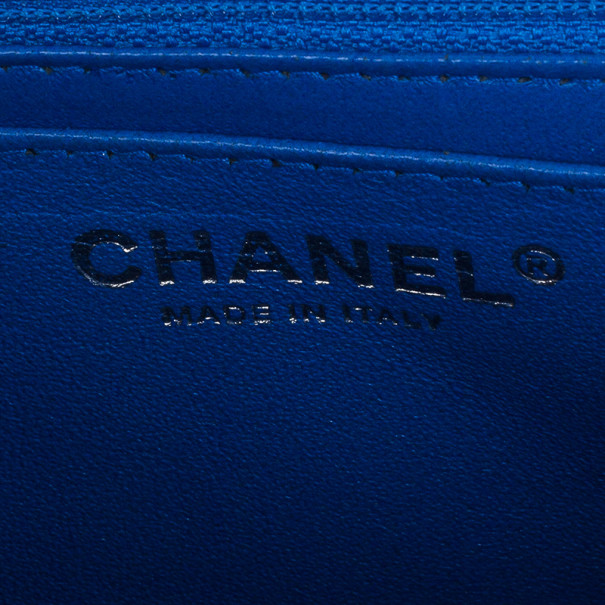 Chanel Blue Caviar Jumbo Flap Bag