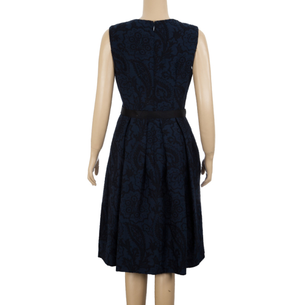 CH Carolina Herrera Brocade Dress M