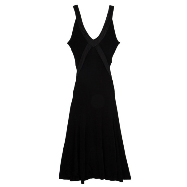 Valentino V Neck Stretch Dress S