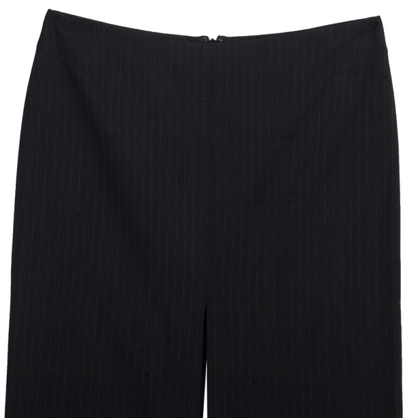 Gucci Fitted Pinstriped Pencil Skirt S
