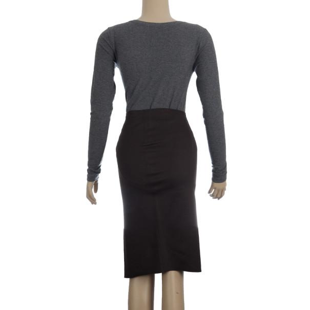 Gucci Ruffled Pencil Skirt XS